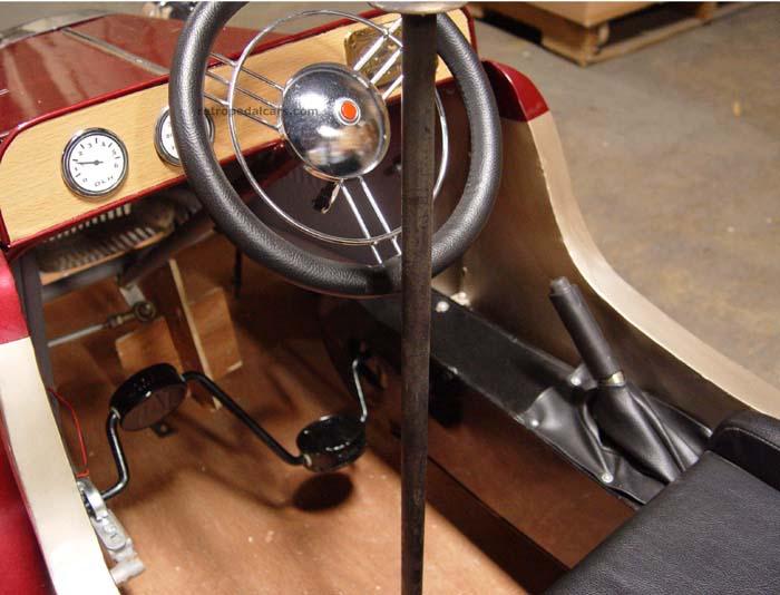 Как сделать машину на педалях своими руками
